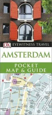 DK Eyewitness Pocket Map and Guide: Amsterdam by DK 9780241200124