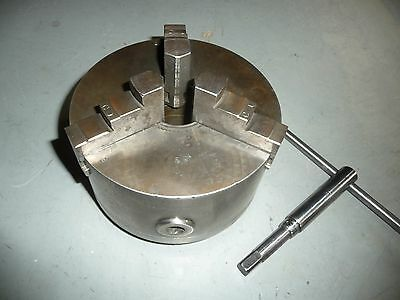 "6 1/4"" 3 Jaw Scroll Chuck for Lathe, Atlas, Logan, South Bend, Craftsman"