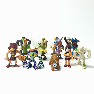 13x Scooby Doo Mystery Mates Solving Crew and The Monsters Mega Figure toy CA307