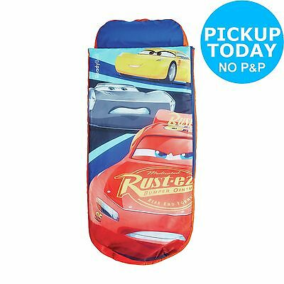 Disney Cars Junior ReadyBed Kids Airbed and Sleeping Bag