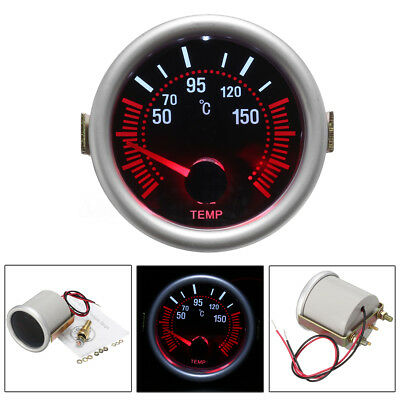 "Car Auto 2"" 52mm Universal Digital LED Pointer Oil Temp Temperature Gauge Meter"