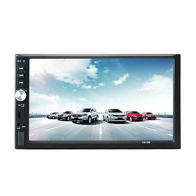 """7"""" Touchscreen Double 2Din In Dash Car Stereo Radio Mp5 DVD Bluetooth TV HOT"""