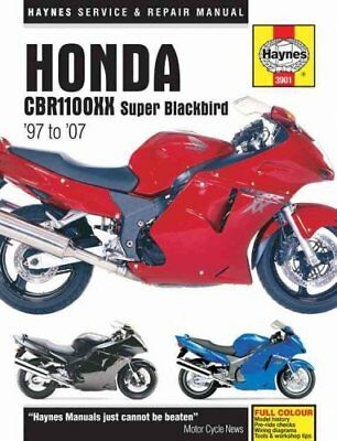 Honda CBR1100XX Super Blackbird Motorcycle Repair Manual by Anon 9781785210525