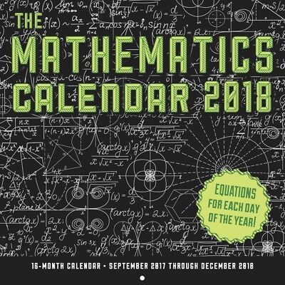 Mathematics Wall Calendar
