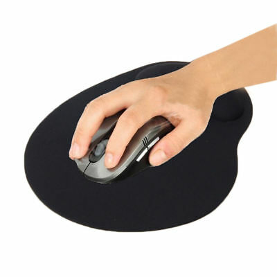 Black 23cm*18cm*2mm Mouse Pad Smooth EVA Comfortable Irregular WRIST REST #dfd