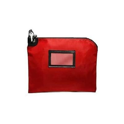 Red Locking Courier Bag (HIPAA) - 15W x 11H New