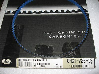 Gates GT Poly Chain Carbon Timing Belt 8MGT-720-12 / 8mm Pitch x 12mm W x 720mm