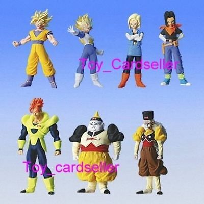 Bandai Dragonball Dragon ball Z HG Special SP 5 Android RR Figure Set of 7