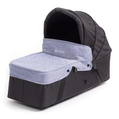 MyChild Easy Twin Main Carrycot (Grey) fits MyChild`s Easy Twin Double Stroller