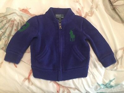 Baby Boy Polo Ralph Lauren Sweater Size 9 Months