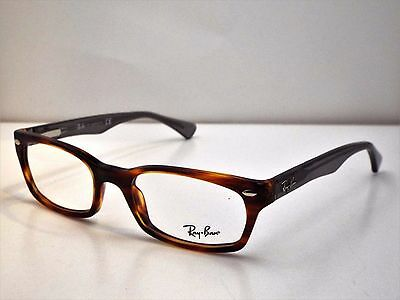 36306427d0 Authentic Ray-Ban RB 5150 5607 Tortoise Grey Eyeglass DEMO Frame Dummy Lens   175