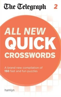 The Telegraph: All New Quick Crosswords 2 (The Telegraph Puzzle Books) (Paperba.
