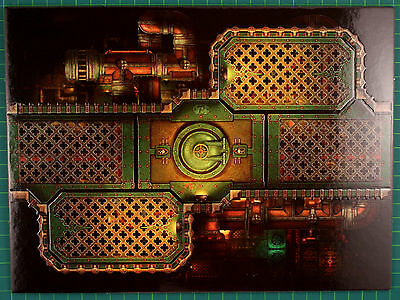 Double-sided Playfield segment G Deathwatch Overkill Warhammer 40K 3837