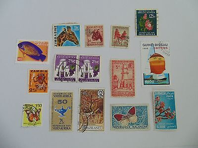 L1601 - Collection Of Mixed Africa Countries Stamps
