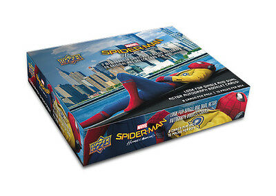 2017 Upper Deck Marvel Spider-Man Homecoming Trading Cards Hobby Box New/Sealed