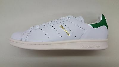 separation shoes 79486 e0296 Adidas Originals Stan Smith White Green Gold Vintage White Mens Sneakers  S75074