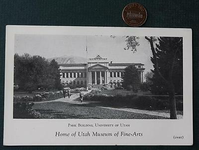 Utah Museum of Fine Arts on the Campus of the University of Utah  Business Card!