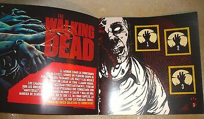 LOT 6 The Walking Dead Trading 120 Card Binder 100% complete album FREE SHIPPING
