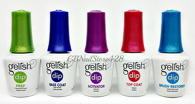 Harmony Gelish DIP SYSTEM ESSENTIALS - Pick Any Item .5oz