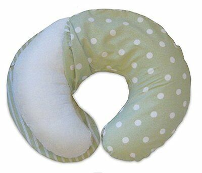 Boppy Pillow Slipcover, Classic Plus Polka Stripe Green - NIB