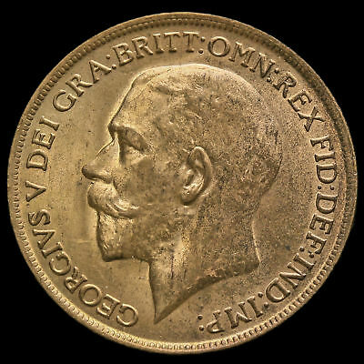 1913 George V Penny, UNC