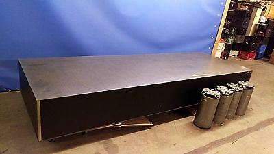 "NRC Newport RS4000-412-18 12' x 4' x 18""  Isolation Laser OPTICAL TABLE & Legs"