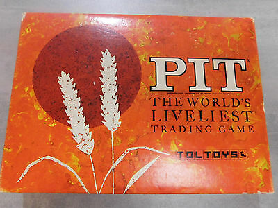 Pit - The World's Liveliest Trading Game - Toltoys 1964