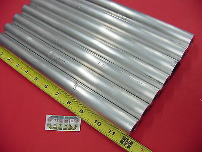 "7 Pieces 1"" OD x 1/4"" Wall 6061 T6 ALUMINUM Round Tube 12"" long 1/2"" ID Seamless"