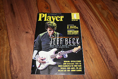 Player - Japanese Guitar, 2017, Jeff Beck, Jullian Lage, NAMM