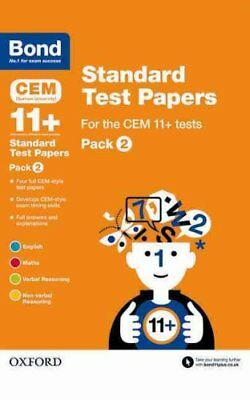 Bond 11+: CEM: Standard Test Papers Pack 2 by Michellejoy Hughes 9780192742193