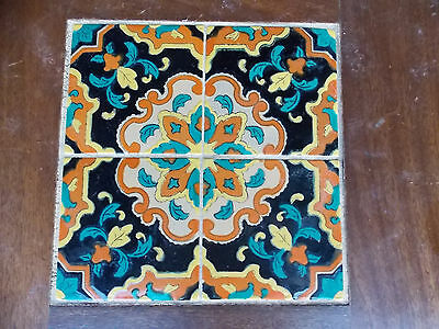 vintage MID CENTURY TILE TOP TABLE guessing Catalina or Monterrey
