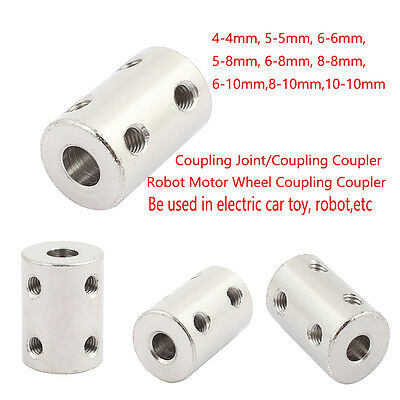 Shaft Rigid Motor Wheel Coupling Coupler Aluminum Casing  Rigid Coupling Joint