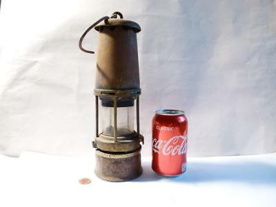 Wolf Safety Lamp Co Sheffield No. 7 RMBS Wm Maurice Ltd MINERS LAMP a/f