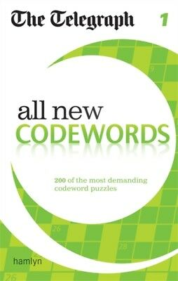 The Telegraph: All New Codewords 1 (The Telegraph Puzzle Books) (. 9780600624936