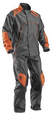New Thor-MX Outer Layer Range Adult Water Resistant Pants,Charcoal/Orange,US-38