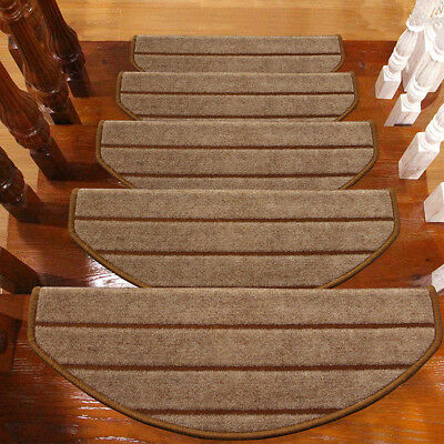 Adhesive Carpet Stair Tread Mats Step Staircase Floor Mat Protection Cover Pads
