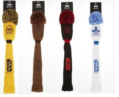 TaylorMade Ltd Ed Star Wars Pom Driver Headcovers - Darth,Storm,Yoda + More