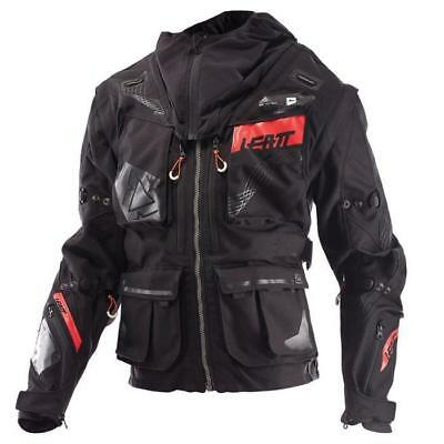 Leatt MX Jacke 5.5 Enduro - schwarz-grau Motocross Enduro MX Cross