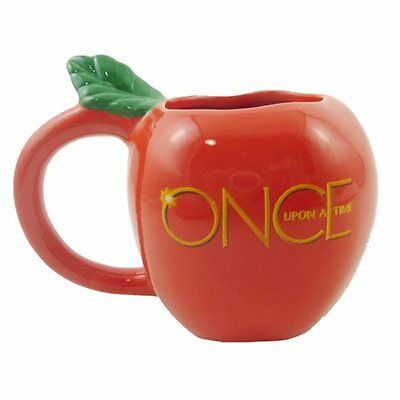 Disney Official ABC studios Once Upon A Time Evil Queen Poison Apple Molded Mug