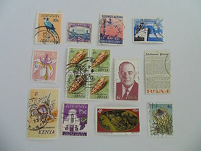L1605 - Collection Of Mixed Africa Countries Stamps