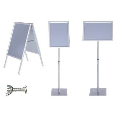A3 A4 Sign Holder A2 A1 Poster Display A-Board Shop Retail Floor Standing Choice