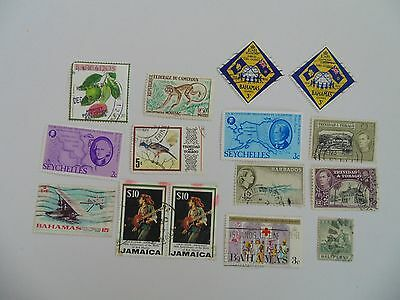 L1648 - Collection Of Mixed Caribbean & Other Isles Stamps