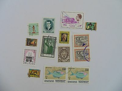 L1655 - Collection Of Mixed Middle East Stamps