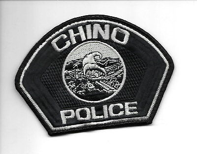 Chino, California used  police patch