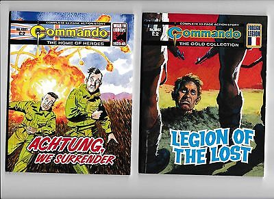 20 commando comics NO.s 4991 to 5011 - 5010 MISSING ALL IN VERY GOOD CONDITION