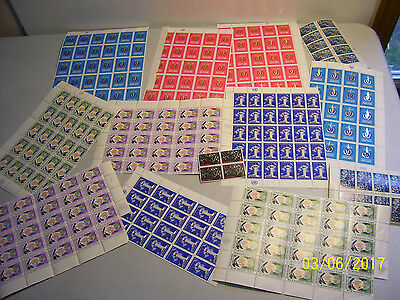 Mixed Assorted Lot of Unchecked Mint Never Hinged United Nations Stamps-READ AD