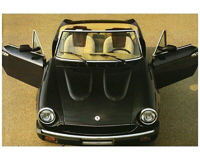 1984 Fiat 124 Pininfarina Spider Convertible Factory Photo ca8210