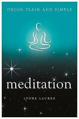 Meditation, Orion Plain And Simple  BOOK NEW