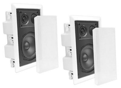 "Pyle-Home PDIW67 Pyle 6.5"" Back Enclosed In Wall Speaker"