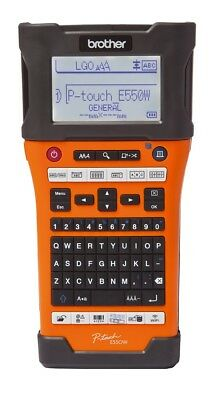 Brother PT-E550W P-touch EDGE Electronic Label Maker Thermal Transfer w CASE